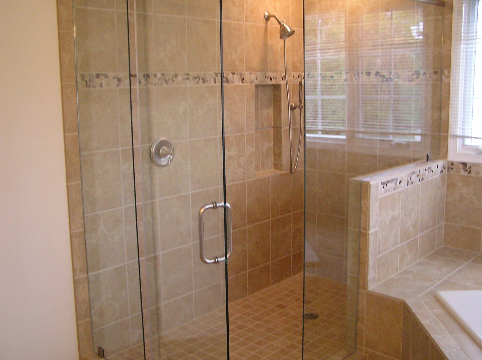 we recently tore out the old shower in a roswell home and replaced it with a bathroom tile designstile bathroomsbathroom ideasbathroom