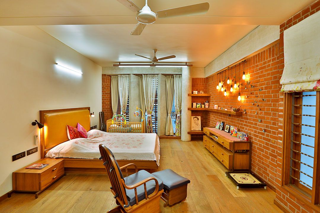 Bhishm Shree Aangan Architects Cozy Bedroom Design Kerala