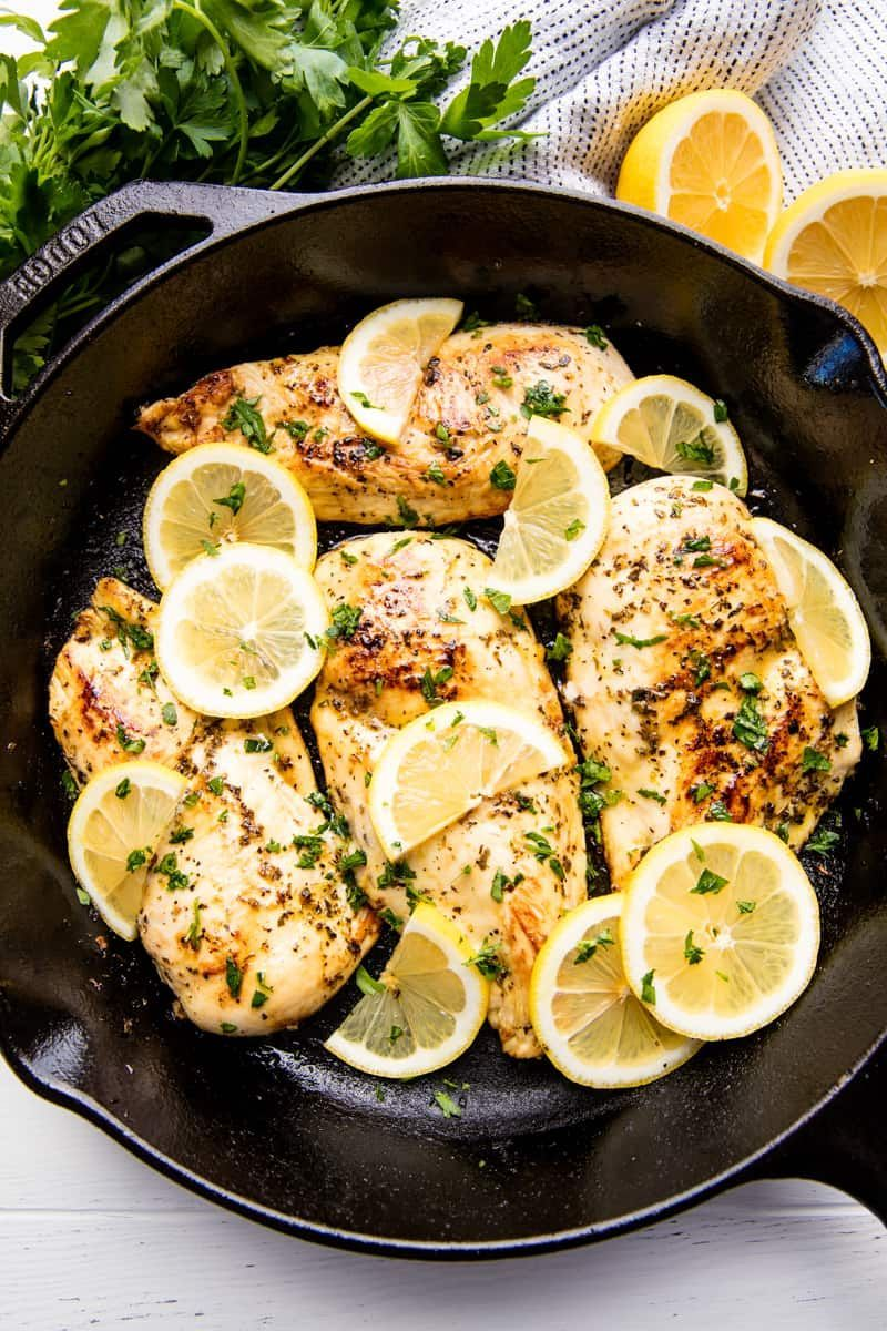 This Quick and Easy Lemon Chicken Recipe requires only a ...