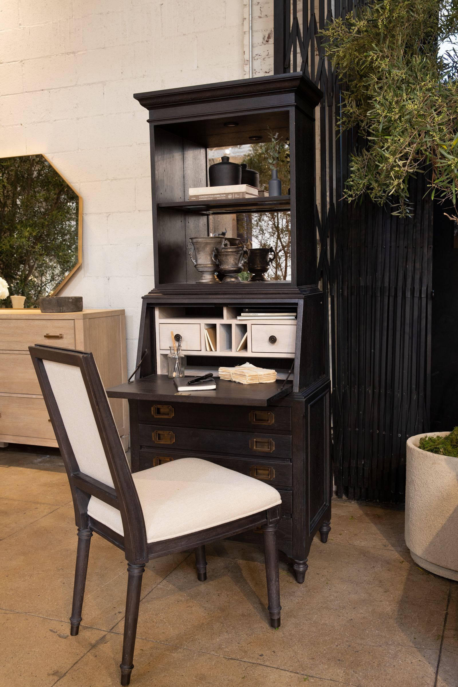 Galerie Secretary Desk By Nate Berkus And Jeremiah Brent Living Spaces Secretary Desks Living Design