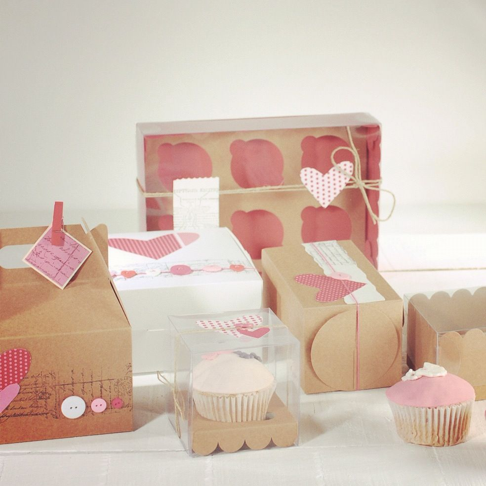 Cupcake boxes to die for! Visit our website for more cupcake ideas ...