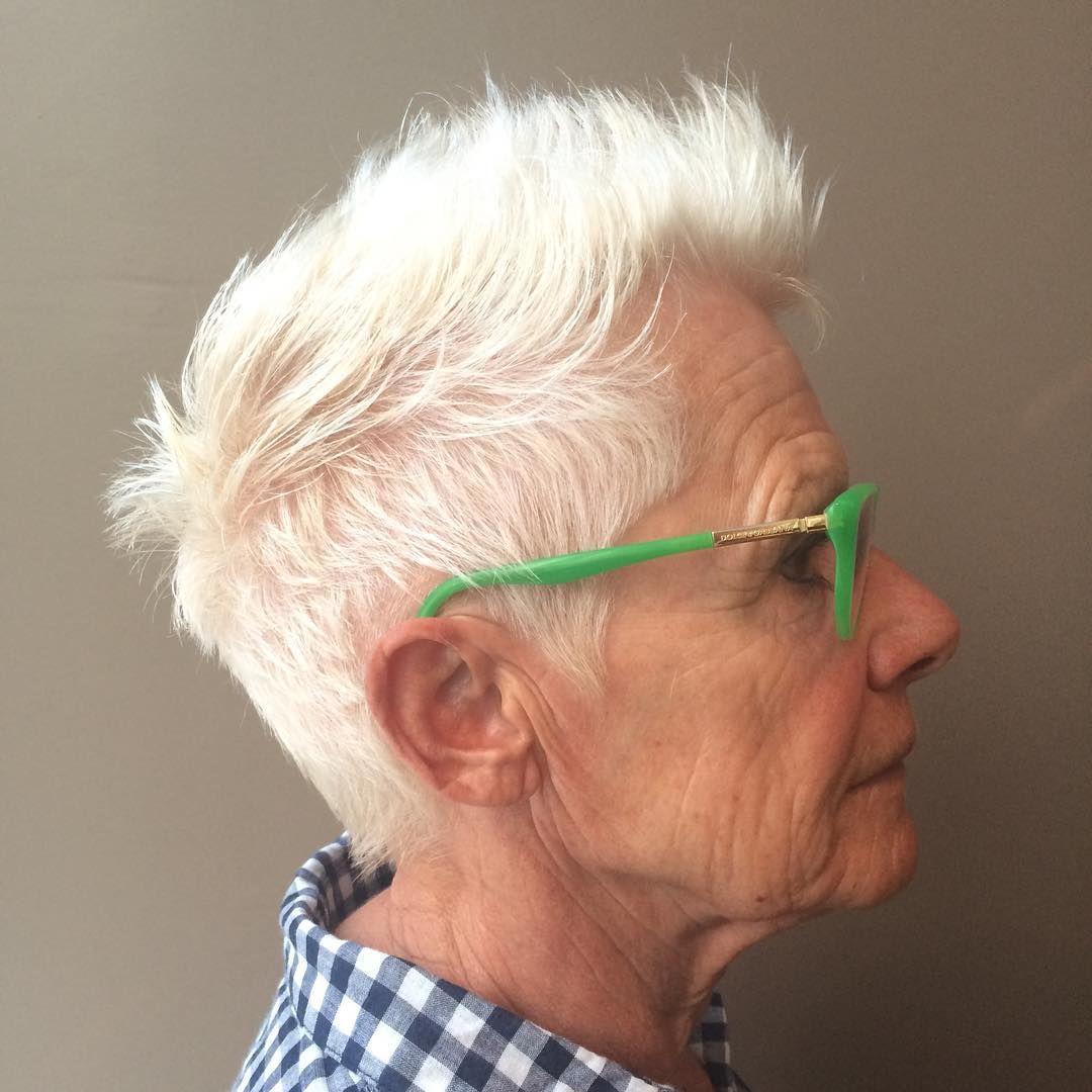 Nice 80 Enchanting Haircuts For Women Over 50 - Fashion -9901