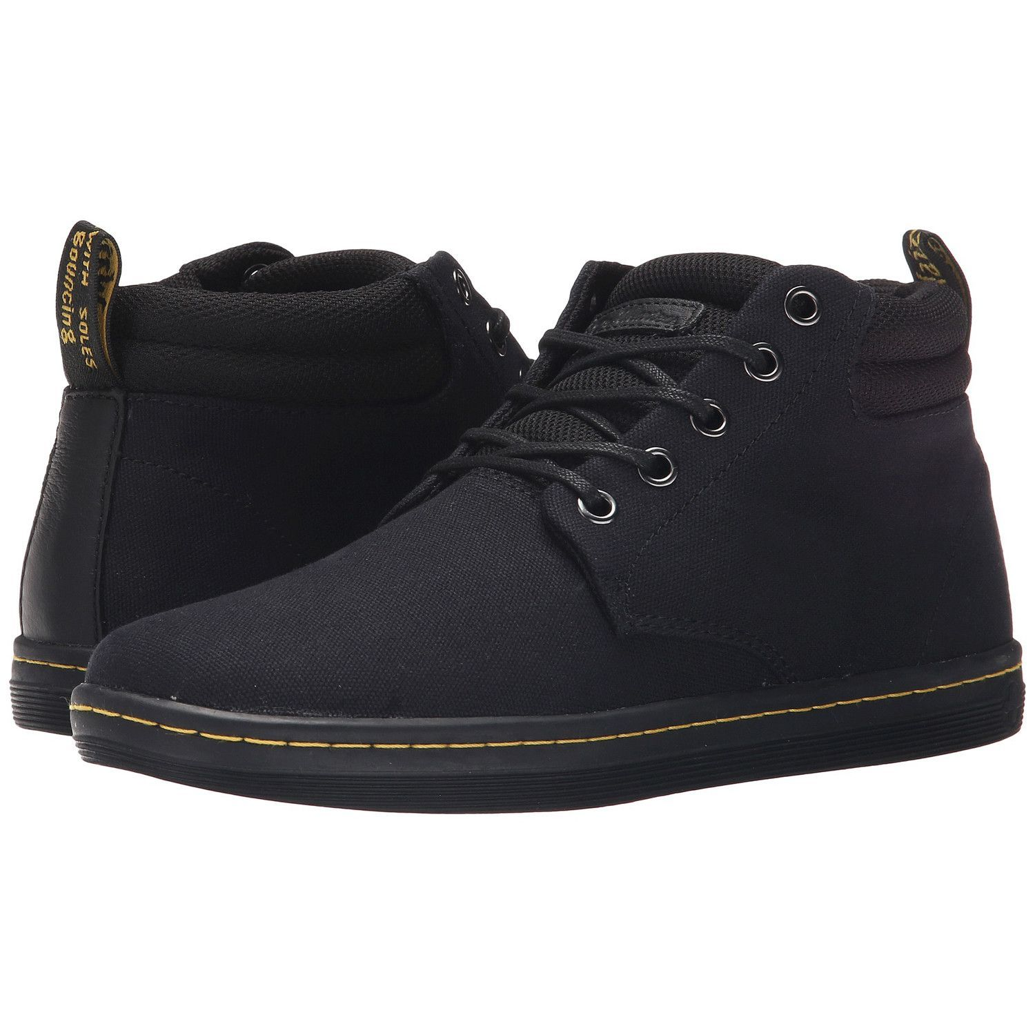7c543bd0c49a1 DR. MARTEN Belmont Canvas+Game On Women | Black | Products | Shoes ...