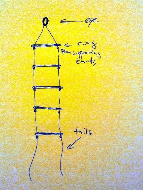 Great craft - Rope ladder