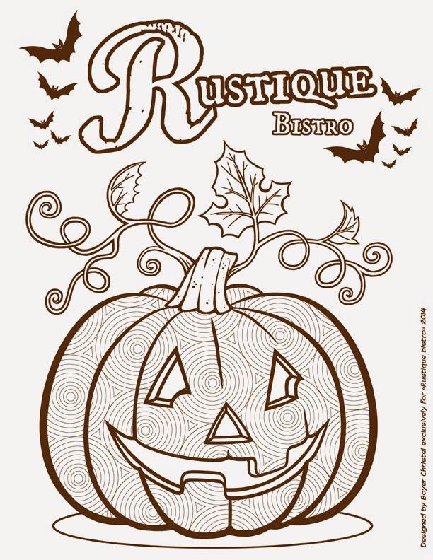 Coloriage De Citrouille Pour Halloween Toutes les