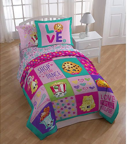 "Shopkins Twin Sheet Set - Jay Franco & Sons Inc. - Babies ""R"" Us: Get it for $21.24 (was $24.99) #coupons #discounts"