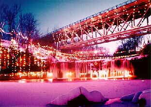 Ludlow Falls Christmas Lights 2019 Ludlow Falls MIAMI County Lighting of the Falls The serene beauty