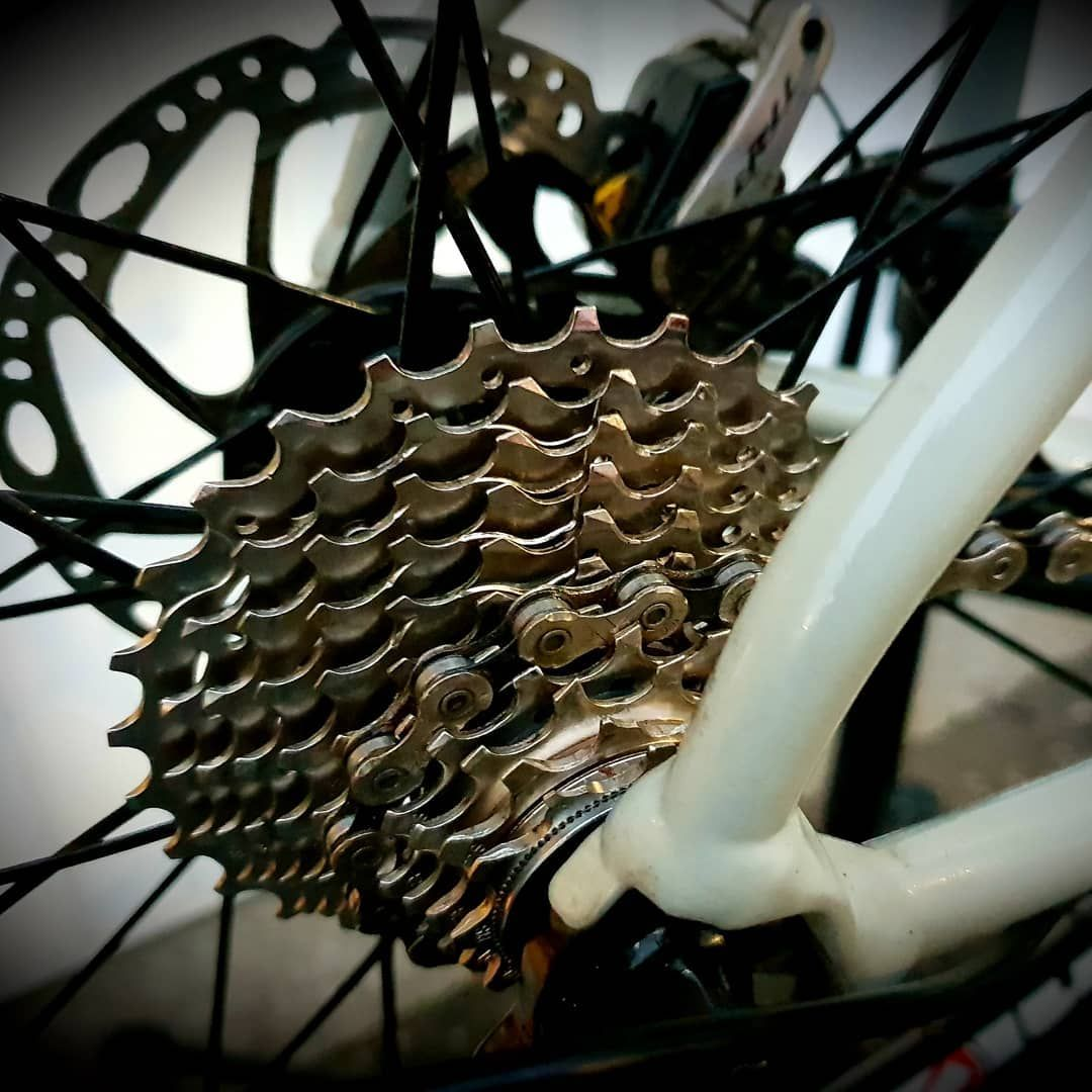 Making That Cassette Shine Again Bike Cycling Ride Bicycle