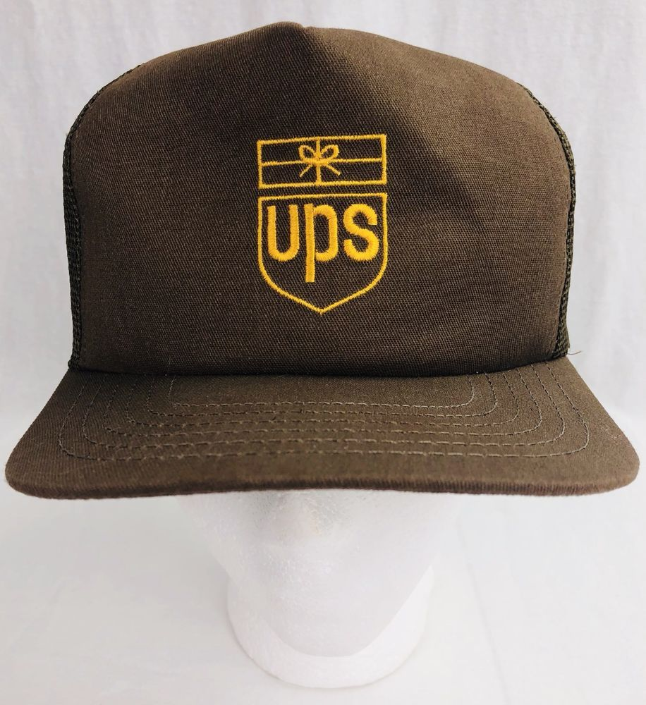341fe8d5b90b1 Vintage Riverside UPS Hat Snapback Made in USA Brown Parcel Service 80s  FREE SH  fashion  clothing  shoes  accessories  mensaccessories  hats (ebay  link)