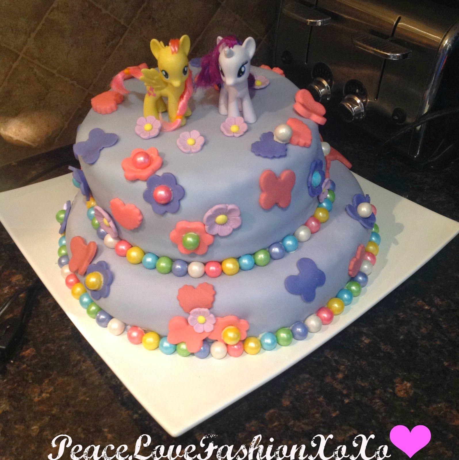 My Little Pony Birthday Cake Walmart Emanuel Pinterest Pony