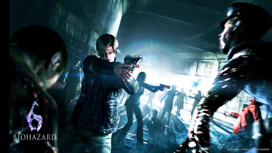 Resident Evil 6 Wallpaper Conceitual Arte Arte Conceitual
