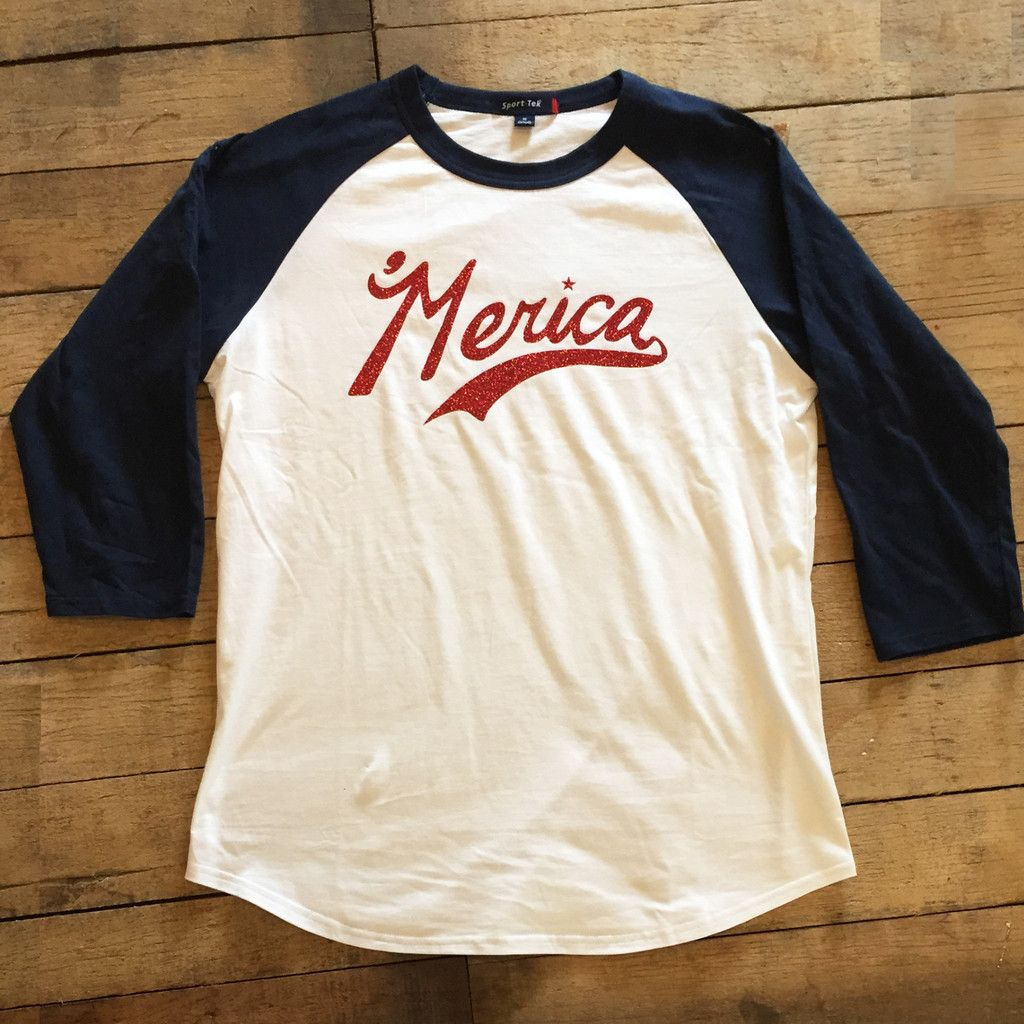 'Merica baseball Tee – Tip Top Design
