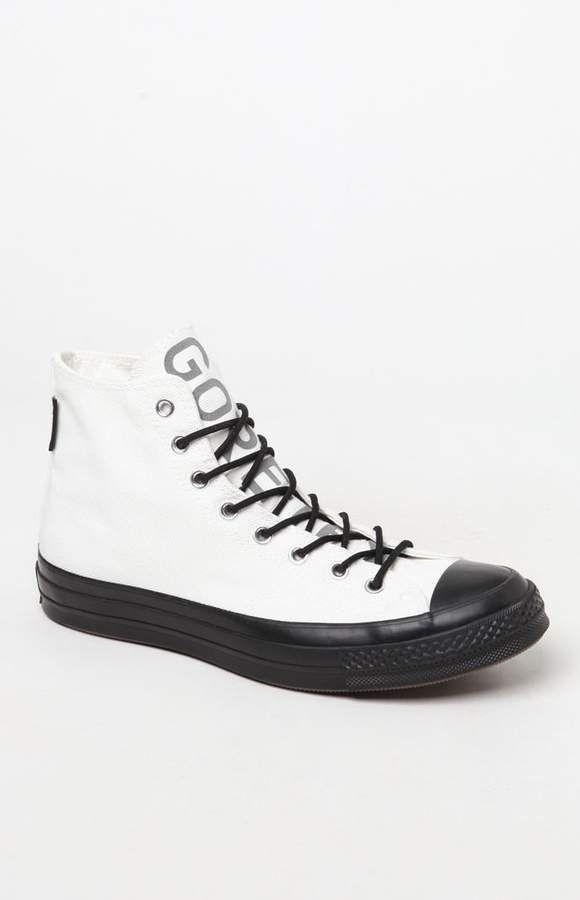 1b4877b857 Converse Chuck 70 GORE-TEX White   Black High Top Shoes