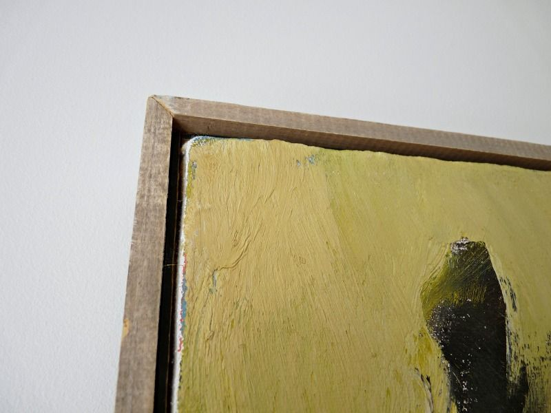 rustic floater frame created with simple wood dans le townhouse reader q