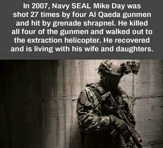 Navy Seal Mike Day Historical Moments Weird Facts Navy Seals