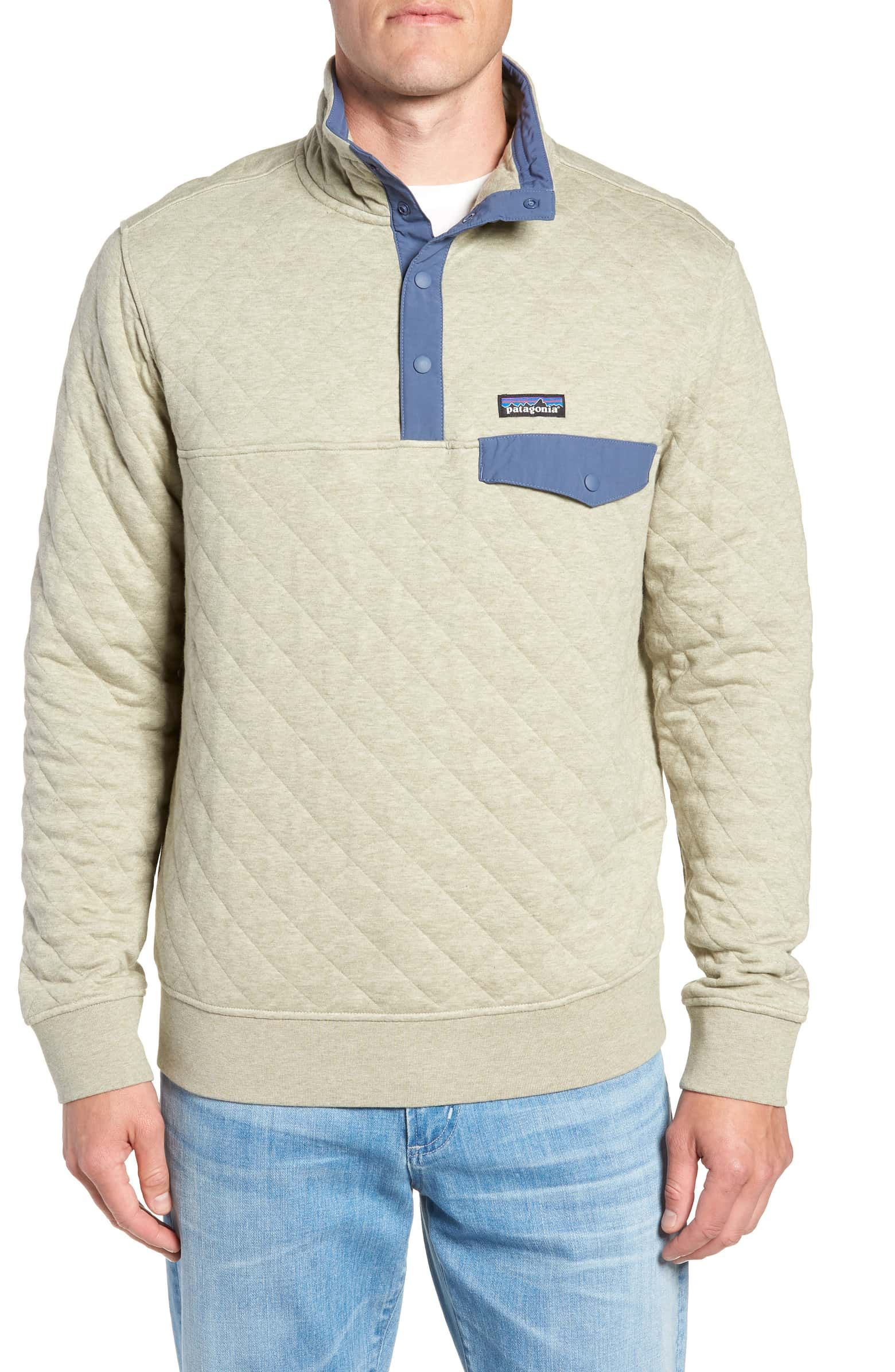 Patagonia Snap T 174 Quilted Fleece Pullover Mens