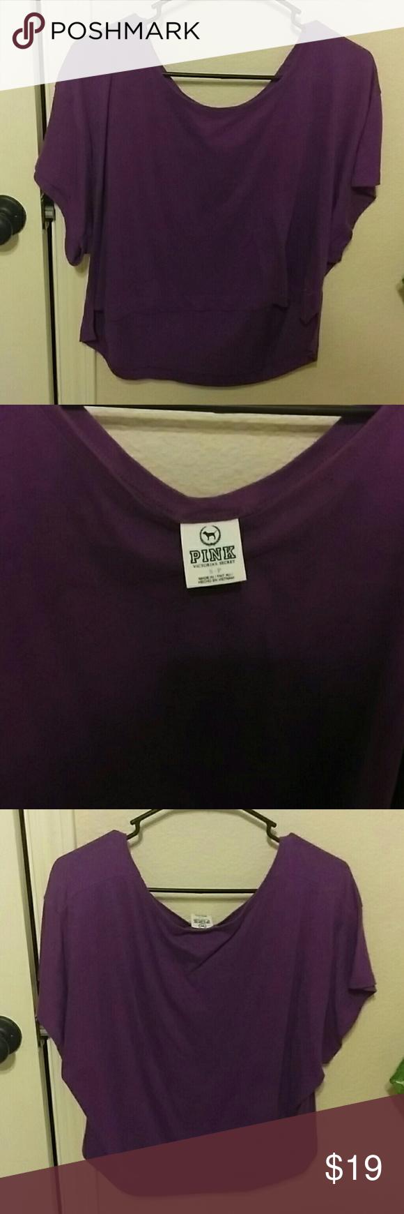 Purple loose Victoria's secret shirt Purple loose Victoria's secret shirt Victoria's Secret Tops Tees - Short Sleeve