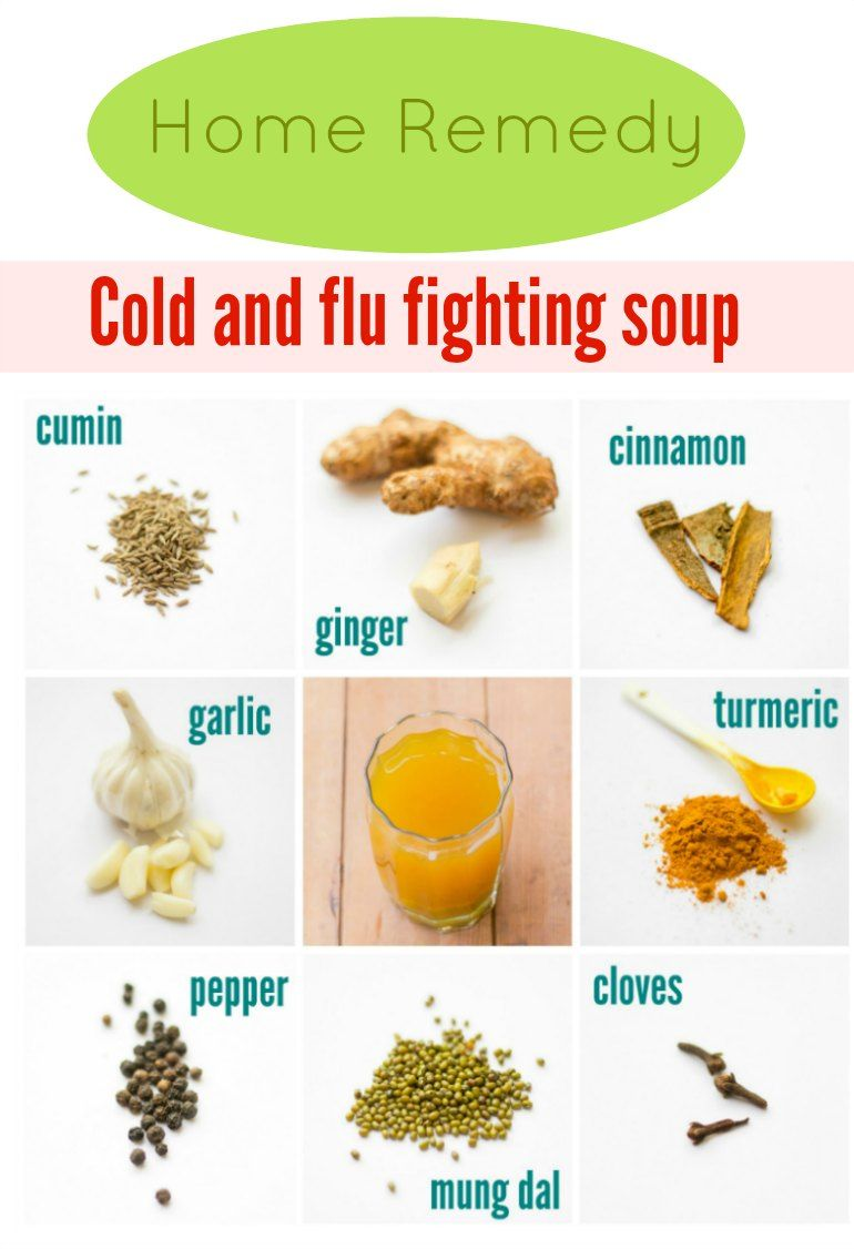 Fever Cold And Flu Fighting Soup Recipe Flu Remedies
