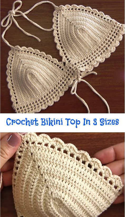 White Crochet Bikini Sexy Croc | croché | Pinterest | Patrones ...