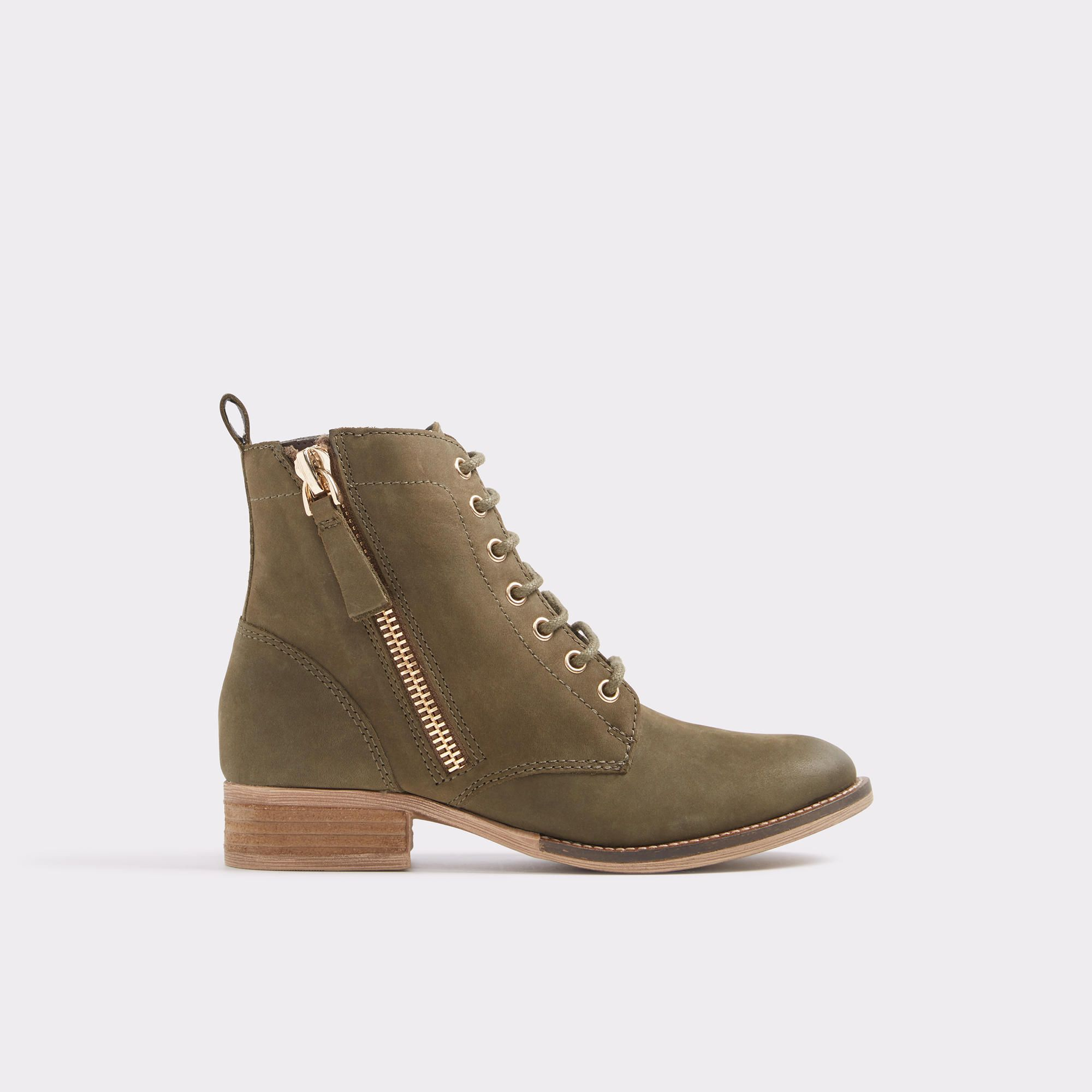 aldo lace up boots womens