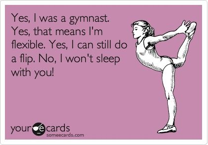 Art gymnast health-fitness