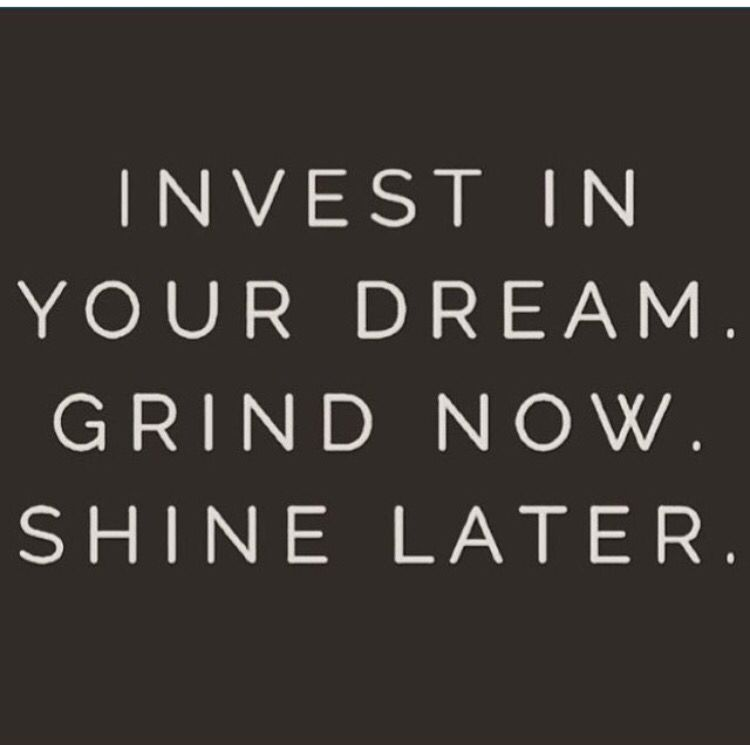 Invest in your dream quote. Sales tips and motivation | Boss ...