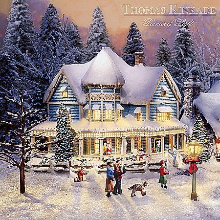 Thomas Kinkade\'s Collectible Village Christmas Collection | Kinkade ...