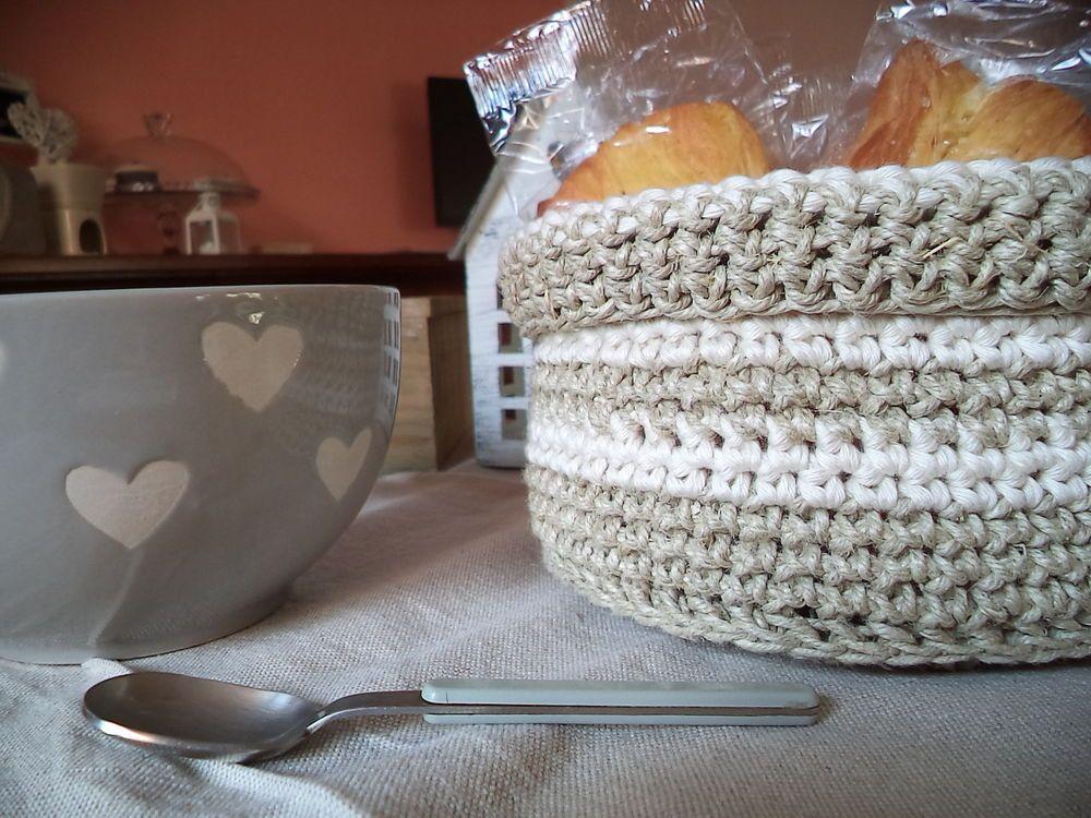 Cestino Bagno ~ Cestino spago cotone porta tutto pastine cialde bagno cucina fatto