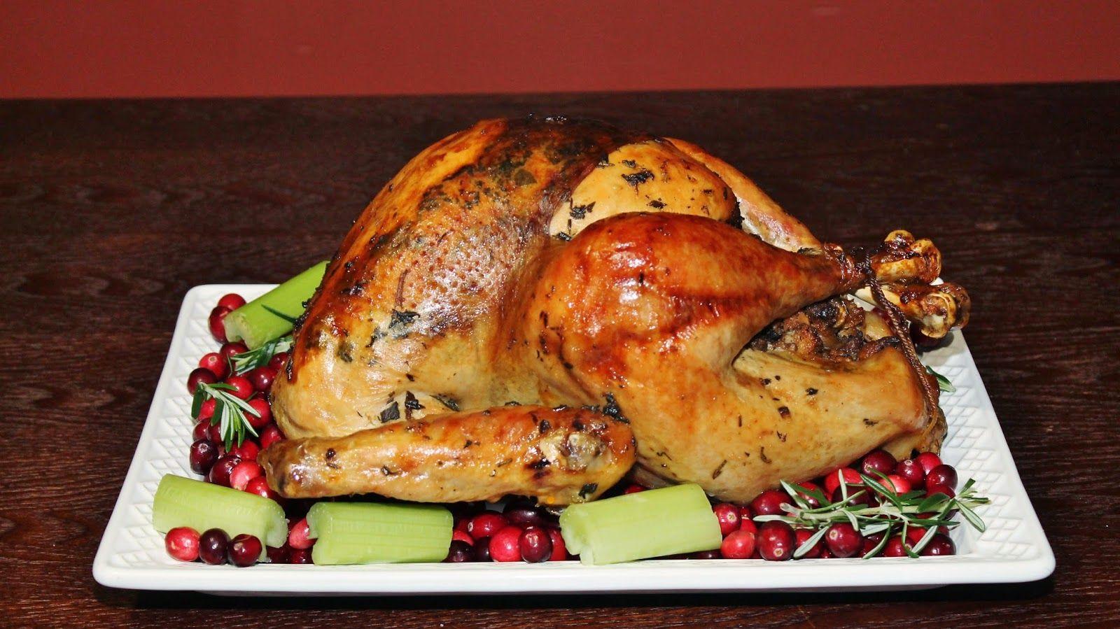 Pavo Relleno Receta De Thanksgiving Paso A Paso Pavo Relleno Recetas Con Pavo Recetas Para Cocinar