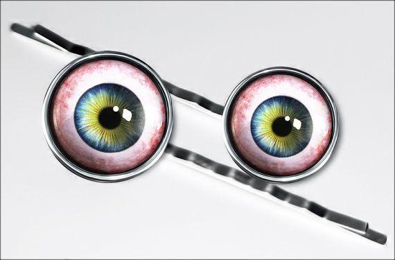 Human Eye Taxidermy Eyeball Oddity Horror by KasketKustoms on Etsy, $14.99