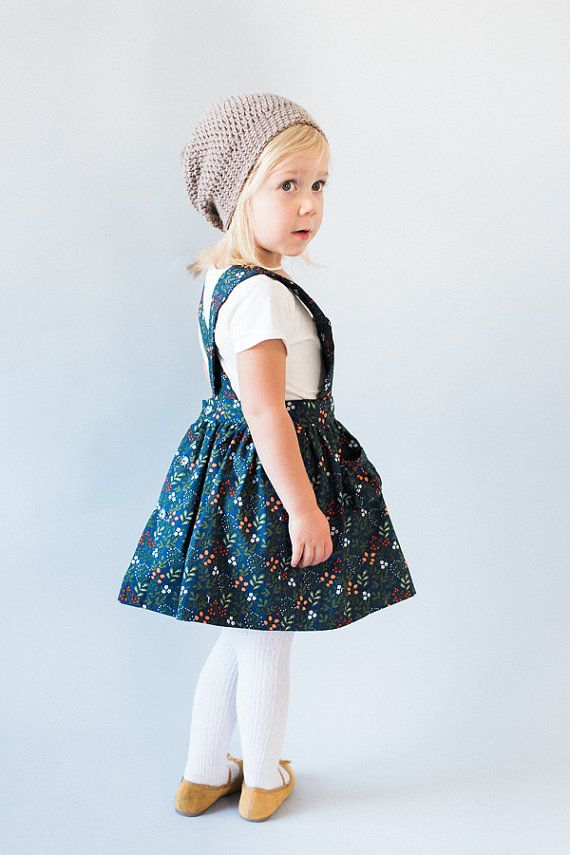 Ayla Toddler Pinafore Dress By Blytheandreese