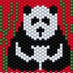 """Love this panda, I'll be beading one for the """"pay-it-forward"""" project, and one for myself :) panda2"""