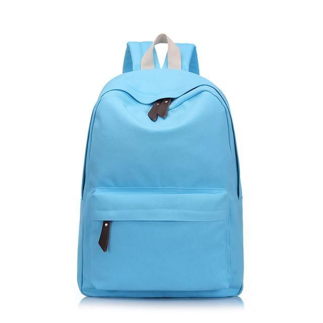 Women school backpack pretty style canvas school bags for teenagers girls  schoolbags leisure backpack college student book bags 768a518f784f8