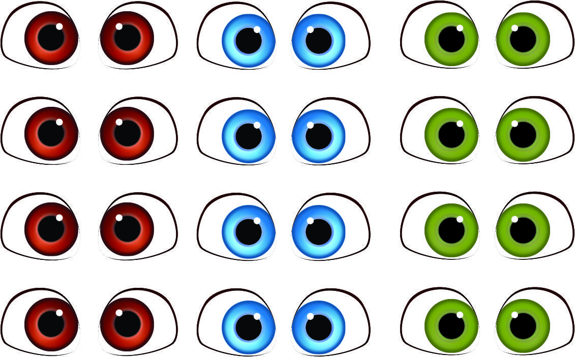 Картинка глазки на игрушки