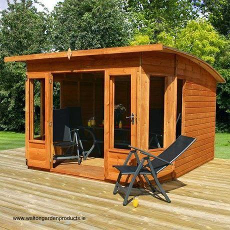 16 modelos de casitas de madera para el jardín Casa de madera