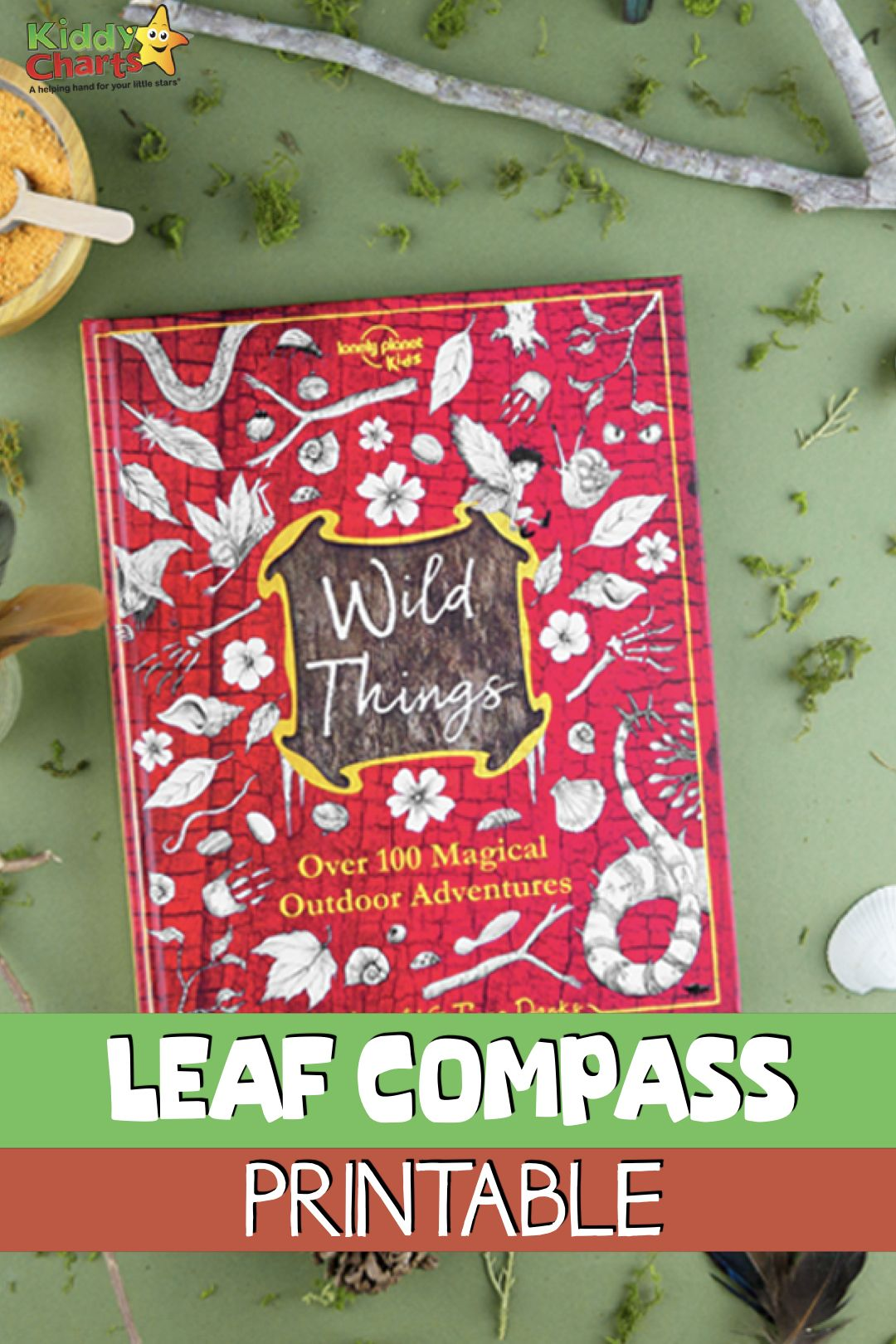 Try Our Printable Leaf Compass For An Outdoor Magical