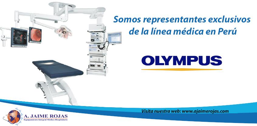 #Olympus está transformando el futuro de la salud por ello A. Jaime Rojas SA trae esta exclusiva gama de equipos médicos a Perú.