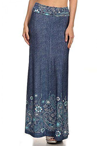 ColorMC Women's Plus Size Women's Floral Circle Print Long Maxi Knit Skirt 3XL DenimPrint ColorMC http://www.amazon.com/dp/B00Y9YIJ8S/ref=cm_sw_r_pi_dp_xC--wb15DGVAD