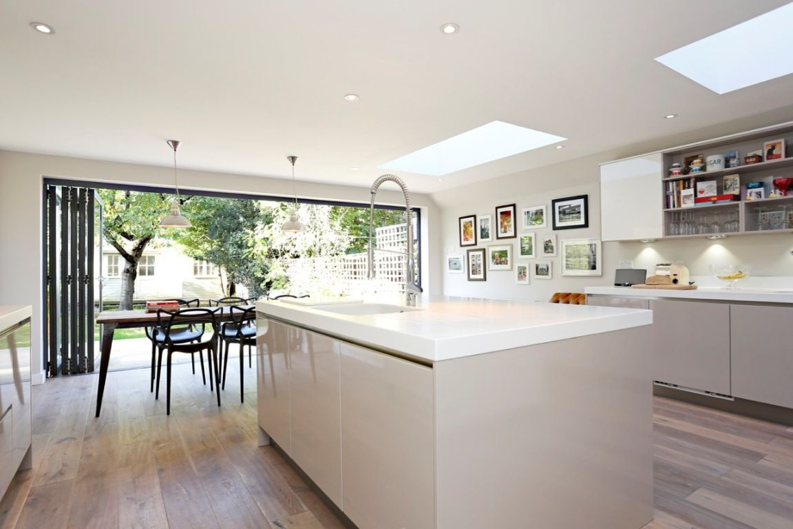 Kitchen extensions side return google search kitchen for Extension to kitchen ideas