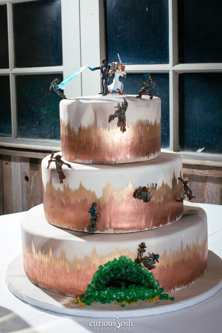 Matt Mercer And Marisha Rays Wedding Cake Is So Cool Critical