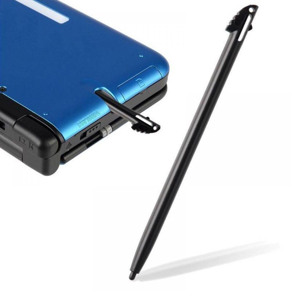 2Pcs/lot Black Plastic Touch Screen Stylus Pen 9.5cm Tablet Pen For 3DS XL LL Stylus All Mobile Pho
