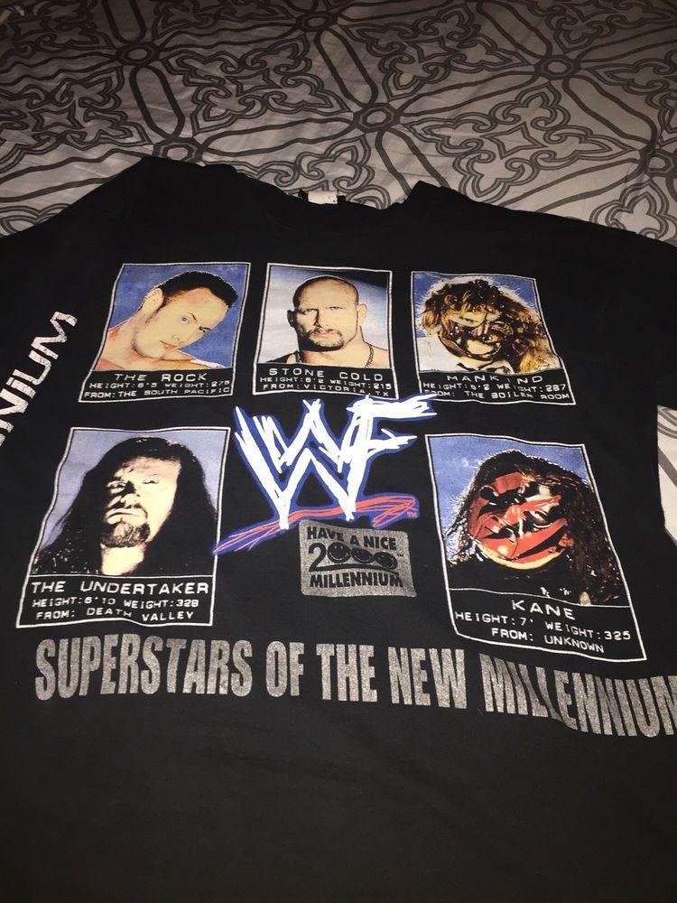 Official WWE Wrestling The Undertaker Symbol Logo Cross Mens T-Shirt S-XXL