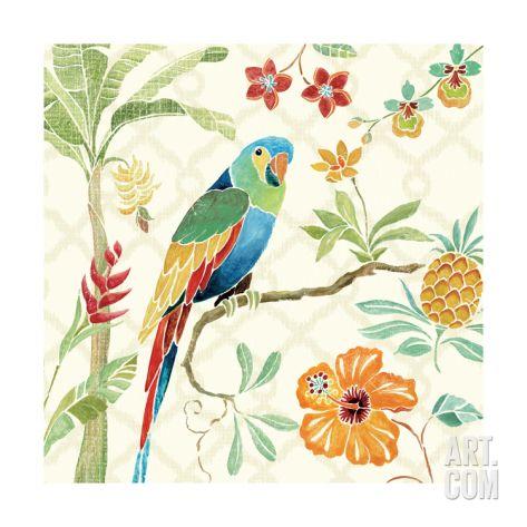 Tropical Paradise I Giclee Print