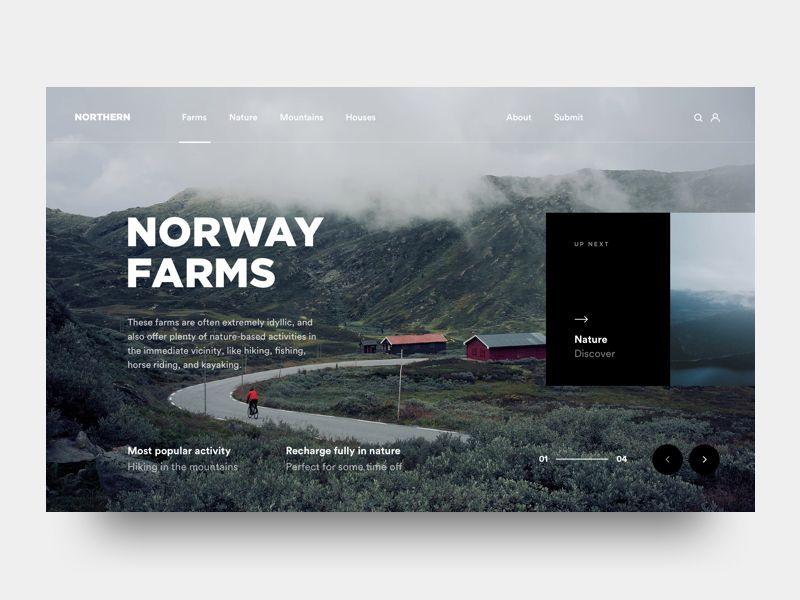 Norway Farms Instagram Graphic Design Web App Design Creative Web Design