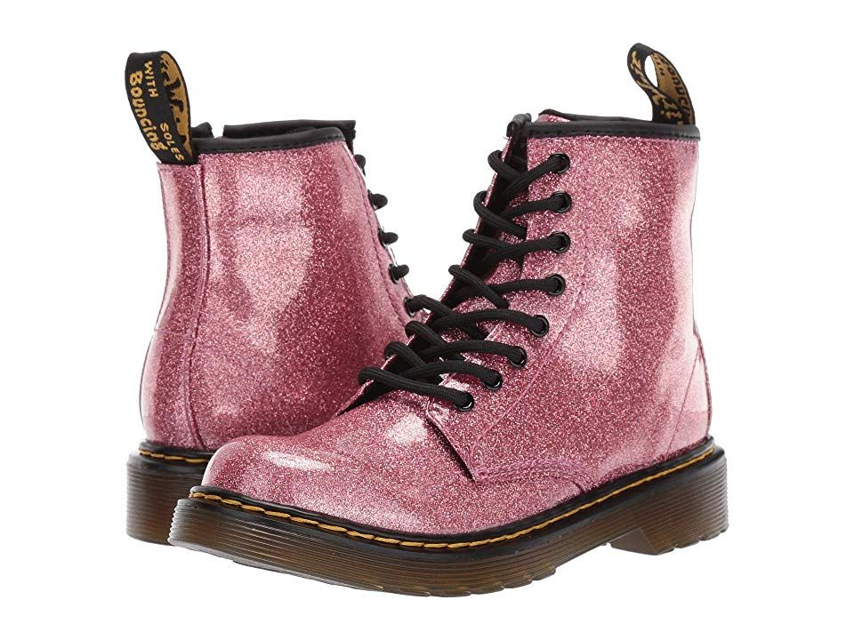 Dr. Martens Kid's Collection 1460 Glitter Stars Delaney Boot