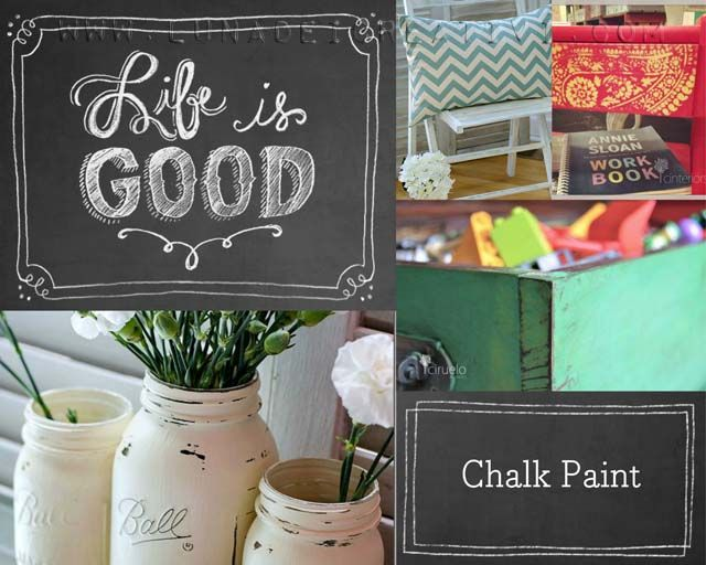 Tutorial Pittura Shabby Chic : Lunadei creativi pittura chalk paint: cosè http