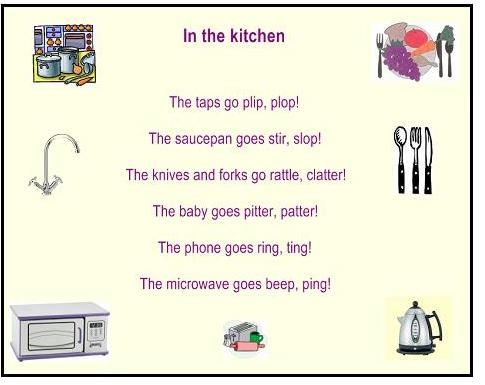Great poem for Onomatopoeia   Poetry   Pinterest   Discover more ...