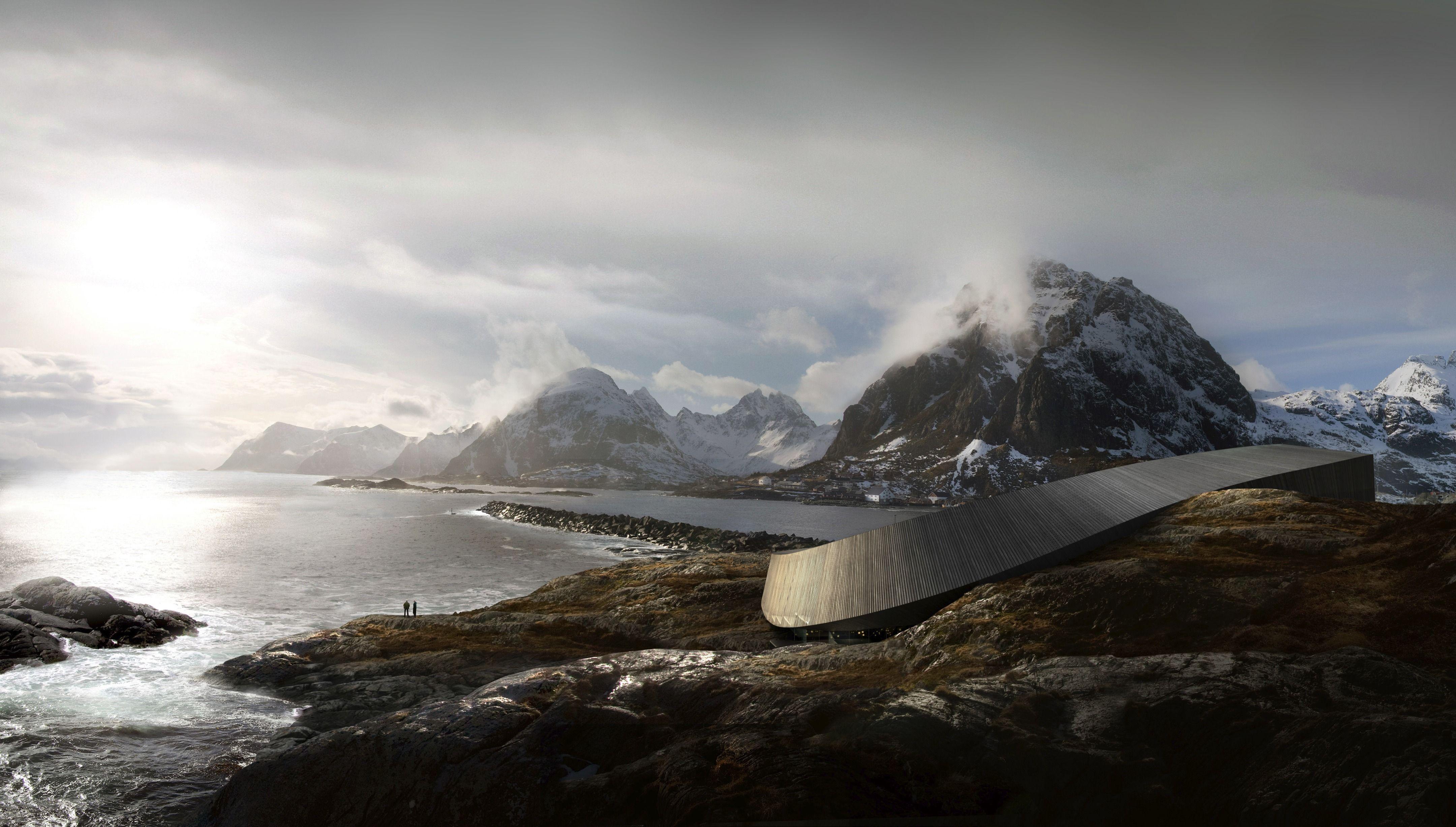 """""""Lofoten Opera Hotel"""", Lofoten - Norway"""