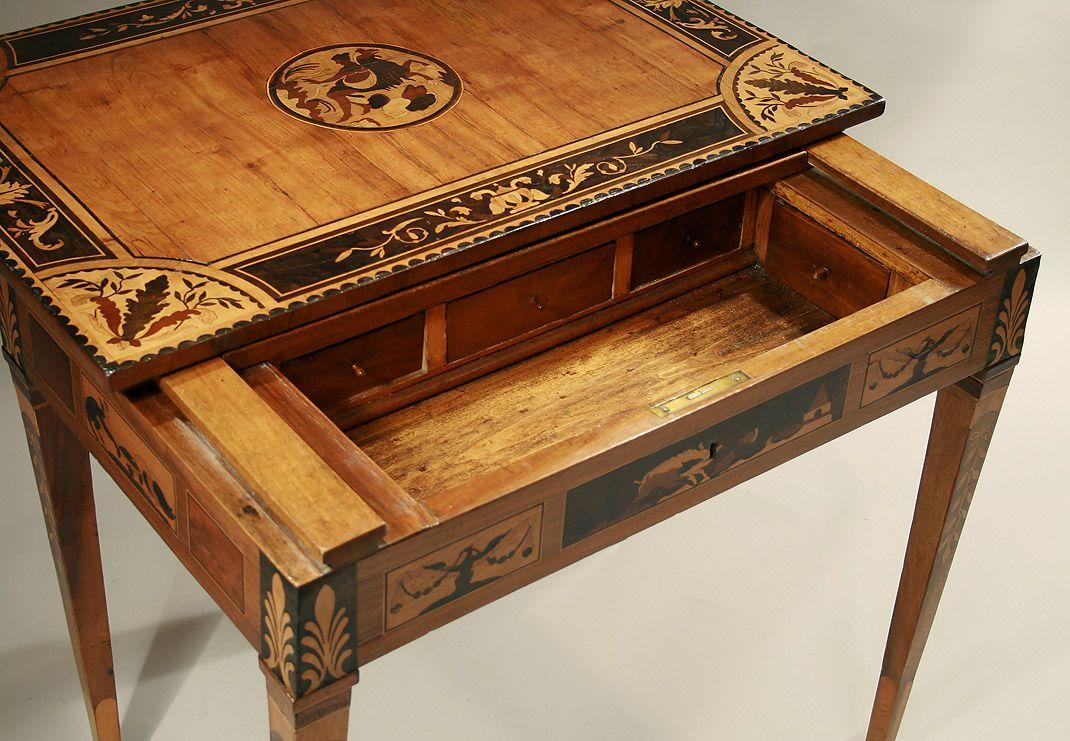 neoclassical desk