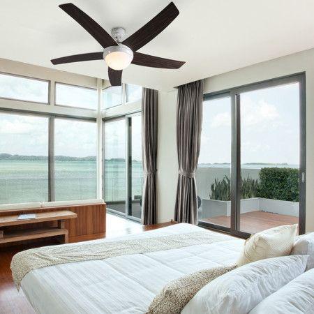 Elegant Deckenventilator Cool 52 Weiß Die #Hitzewelle Steht Vor Der #Tür, Behalten  Sie Mit